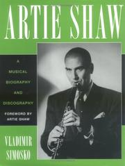 Cover of: Artie Shaw | Artie Shaw