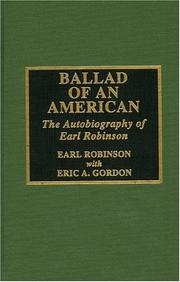 Cover of: Ballad of an American | Gordon Eric A.