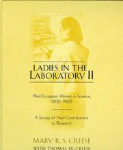 Cover of: Ladies in the laboratory II | Mary R. S. Creese
