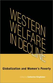 Cover of: Western Welfare in Decline by Catherine Kingfisher