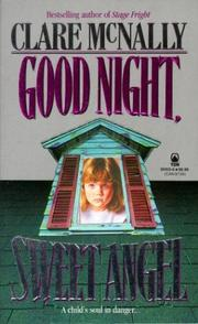 Cover of: Good Night, Sweet Angel | Clare McNally