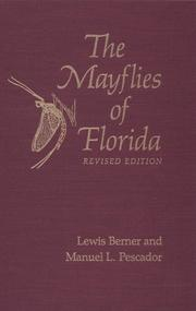 Cover of: The mayflies of Florida by Lewis Berner