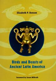 Cover of: Birds and beasts of ancient Latin America | Elizabeth P. Benson