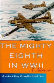 Cover of: The Mighty Eighth in Wwii | J. Kemp McLaughlin