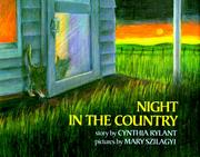 Cover of: Night in the country | Cynthia Rylant