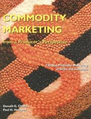 Cover of: Commodity marketing from a producer's perspective by Donald G. Chafin