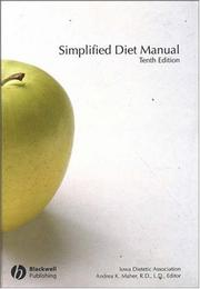 Cover of: Simplified Diet Manual | Andrea Maher