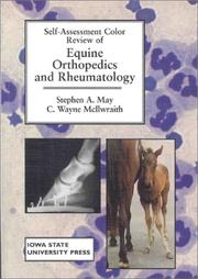 Cover of: Self-assessment color review of equine orthopedics and rheumatology | Stephen A. May