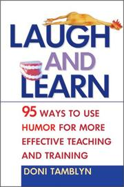 Cover of: Laugh and learn by Doni Tamblyn