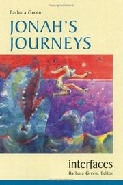 Cover of: Jonah's journeys | Green, Barbara