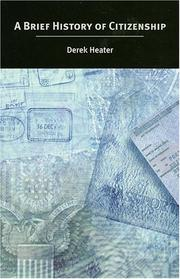 Cover of: A Brief History of Citizenship | Derek Heater