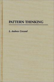 Cover of: Pattern thinking | L. Andrew Coward