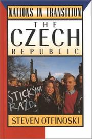 Cover of: The Czech Republic | Steven Otfinoski
