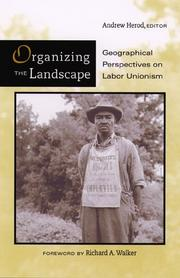 Cover of: Organizing the Landscape | Andrew Herod