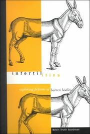Cover of: Infertilities by Robin Truth Goodman