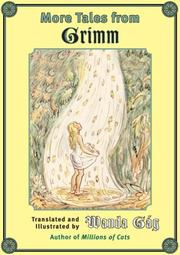 Cover of: More Tales from Grimm (Fesler-Lampert Minnesota Heritage) | Wanda Gág