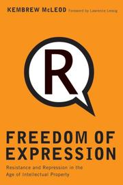 Cover of: Freedom of expression® | Kembrew McLeod