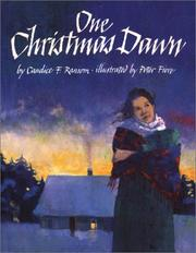 Cover of: One Christmas Dawn | Candice F. Ransom