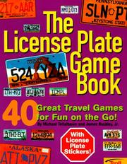 Cover of: The license plate game book by Michael Teitelbaum