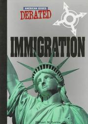 Cover of: Immigration by Herbert M. Levine