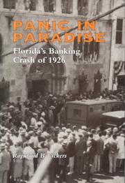 Cover of: Panic in paradise | Raymond B. Vickers