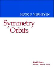 Cover of: Symmetry orbits by Hugo F. Verheyen
