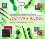 "Cover of: ""Reader's Digest"" Basic Guide Canvas Work (""Reader's Digest"" Needlecraft Guide) 