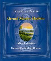 Cover of: Poetry as prayer by Maria R. Lichtmann