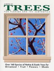 Cover of: Book of Trees - For Florida and the Subtropics | Fred Walden
