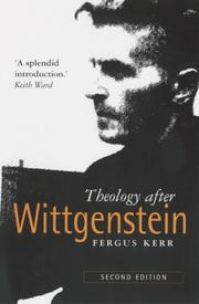 Cover of: Theology after Wittgenstein by Fergus Kerr