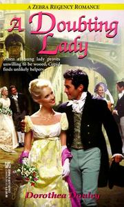 Cover of: A doubting lady | Dorothea Donley