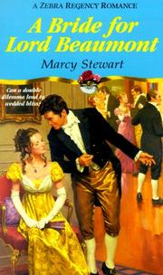 Cover of: A bride for Lord Beaumont by Marcy Stewart