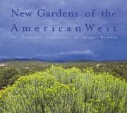 Cover of: New Gardens of the American West | Sarah Shaw