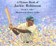 Cover of: A picture book of Jackie Robinson | David A. Adler