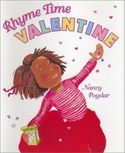 Cover of: Rhyme time valentine by Nancy Poydar