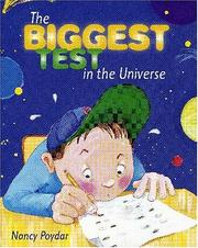 Cover of: The biggest test in the universe | Nancy Poydar
