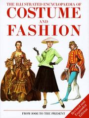 Cover of: The Illustrated Encyclopedia of Costume & Fashion by Jack Cassin-Scott