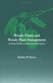 Cover of: Woody Plants and Woody Plant Management: Ecology | Bovey