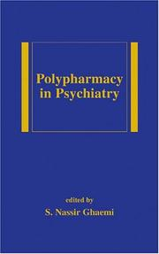 Cover of: Polypharmacy in Psychiatry (Medical Psychiatry, 17) | Ghaemi