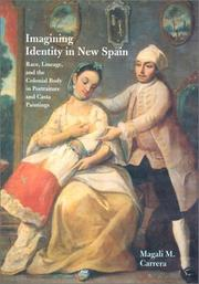 Cover of: Imagining Identity in New Spain | Magali M. Carrera