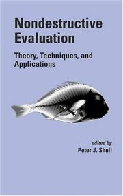 Cover of: Nondestructive Evaluation | Peter J. Shull