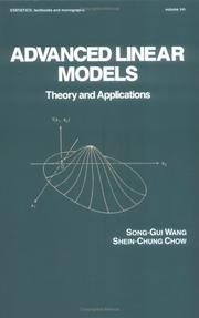 Cover of: Advanced linear models | Sung-kuei Wang