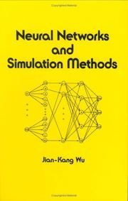 Cover of: Neural networks and simulation methods by Jian-Kang Wu