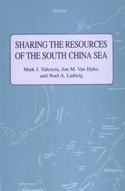 Cover of: Sharing the resources of the South China Sea | Mark J. Valencia