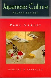 Cover of: Japanese Culture | Varley