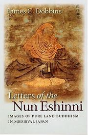 Cover of: Letters of the Nun Eshinni by James C. Dobbins