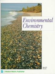 Cover of: Environmental Chemistry | David Newton