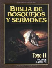 Cover of: Hebreos y Santiago #11: Preacher's Outline and Sermon Bible | Anonymous