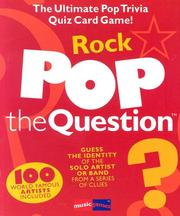 Cover of: Pop The Question Rock (Music Games) by Michael Heatley