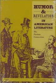 Cover of: Humor and Revelation in American Literature | Pascal Covici